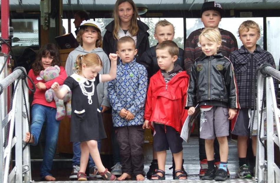 Children who attended the Child Cancer Foundation event on Sunday. Photo by Christina McDonald.