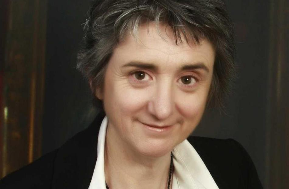 Christchurch writer Jane Higgins, author of  Havoc. Photo supplied.
