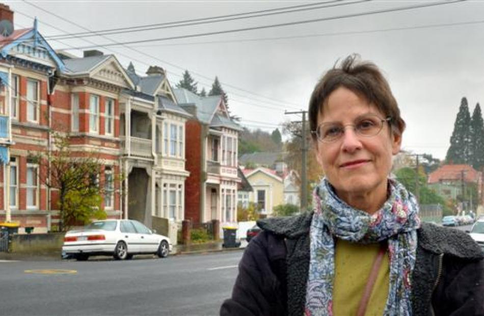 City Rise property owner Meg Davidson is calling on the Dunedin City Council to work with...