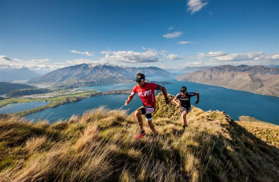 Competitors in the new Red Bull Defiance two-day multisport event near Wanaka will have to stay...