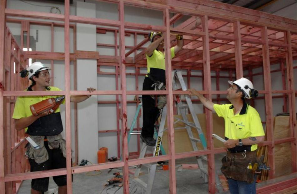Construction wage growth in Canterbury is considerably higher. Photo by Linda Robertson.