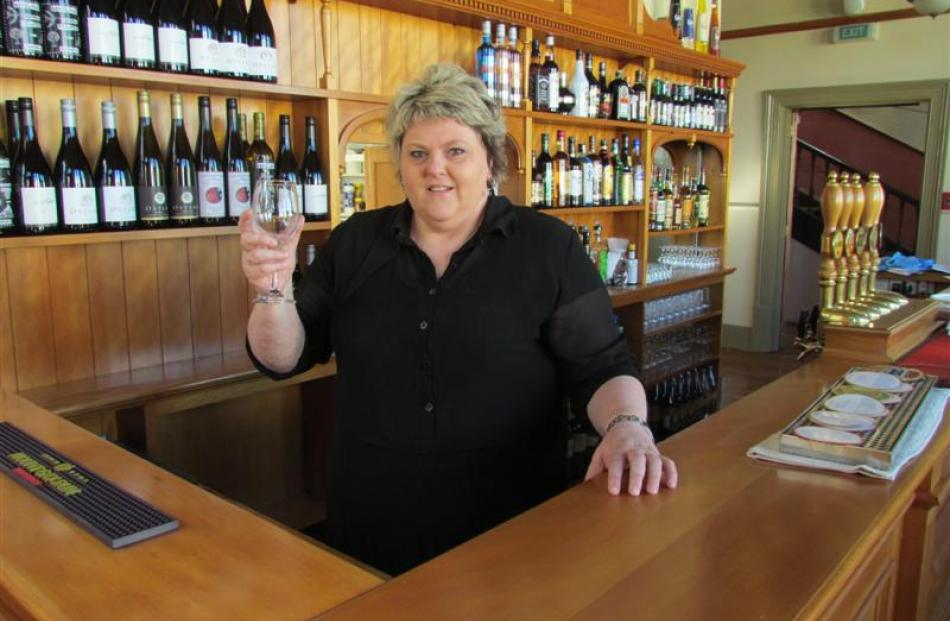 Criterion lessee Sally-Ann Donnelly looks forward to reopening the historic Criterion Hotel....