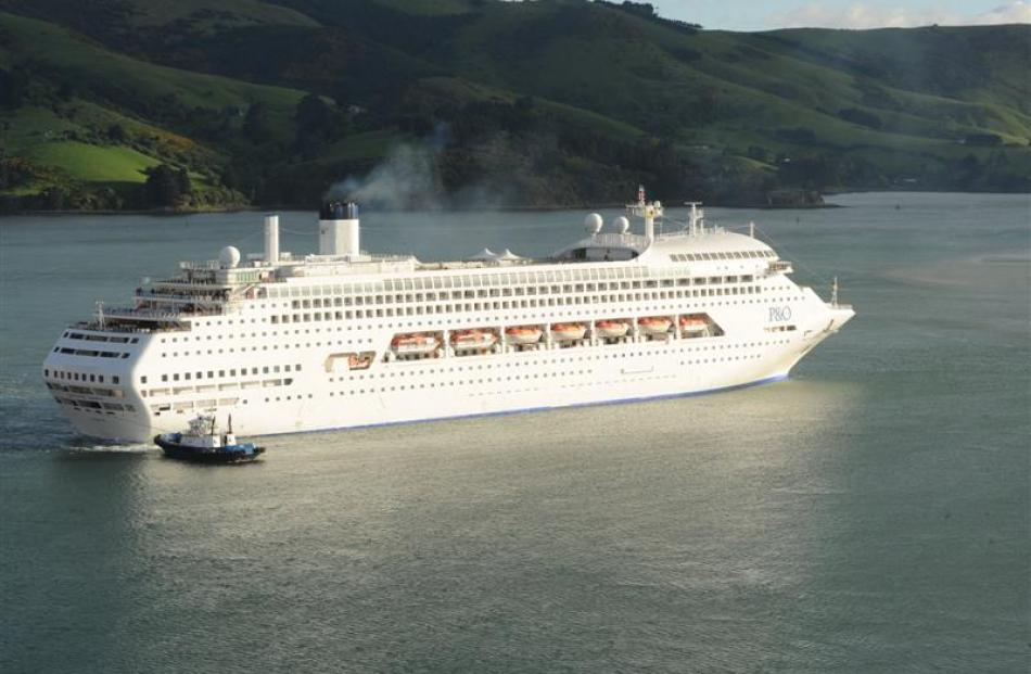 Cruise ship Dawn Princess.
