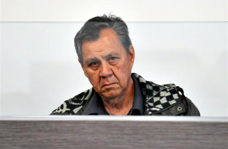 Damas Flohr in the Dunedin District Court during his trial in November. Photo by ODT.