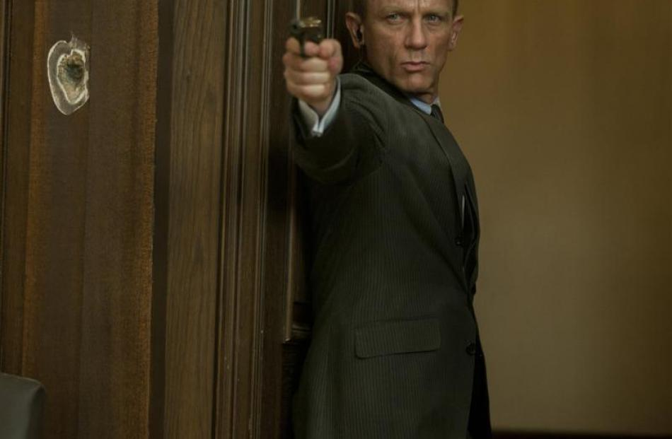 Daniel Craig stars as James Bond in Skyfall, the 23rd Bond film. Photo by MCT.