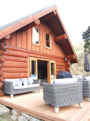 Dave and Janene Divers have diversified into tourism with the Cascade Creek Retreat.