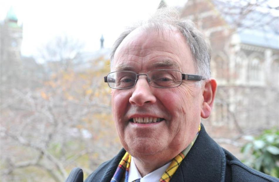 David Richardson, who retired from the University of Otago last week after more than 14 years as...