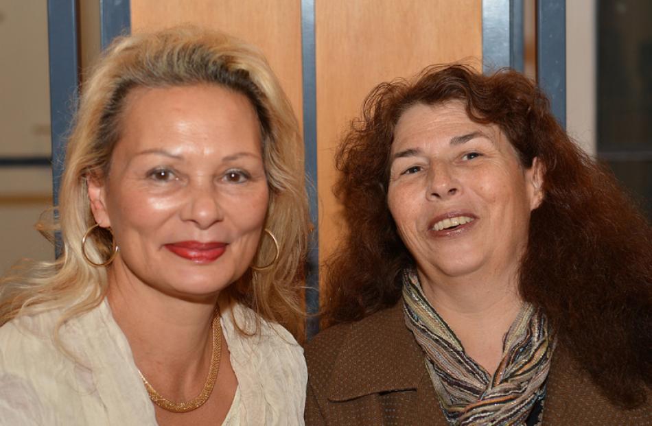 Deborah Baird and Judy Walker, both of Dunedin.