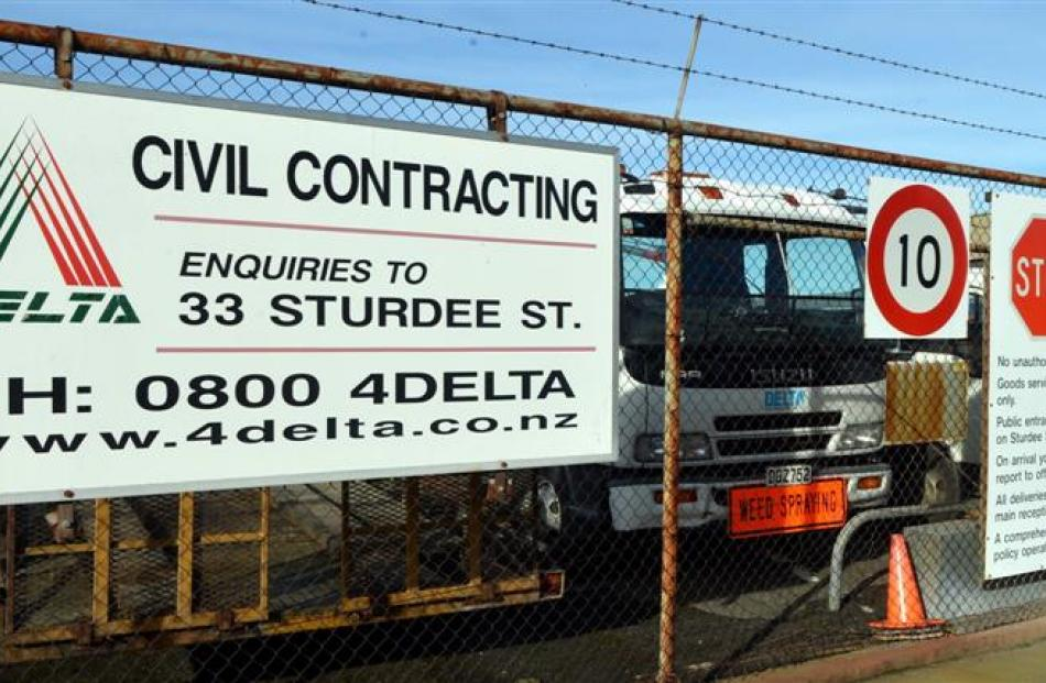 Delta is closing its civil contracting division. Photo by Stephen Jaquiery.