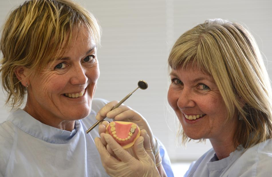 Dr Lyndie Foster Page (left) and Dorothy Boyd, of the Dunedin Dental School, have carried out...