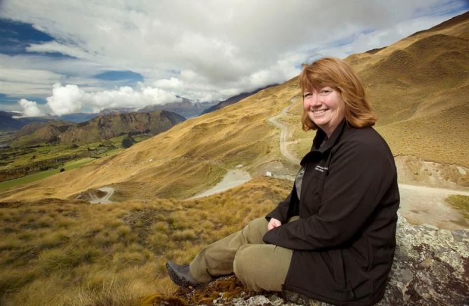 Department of Conservation Wakatipu area community relations ranger Anna Humphries has been...