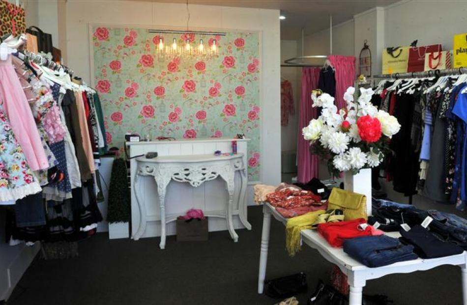 Dolly Birds Designer Boutique has been able to find a niche market in the community. Photo by...