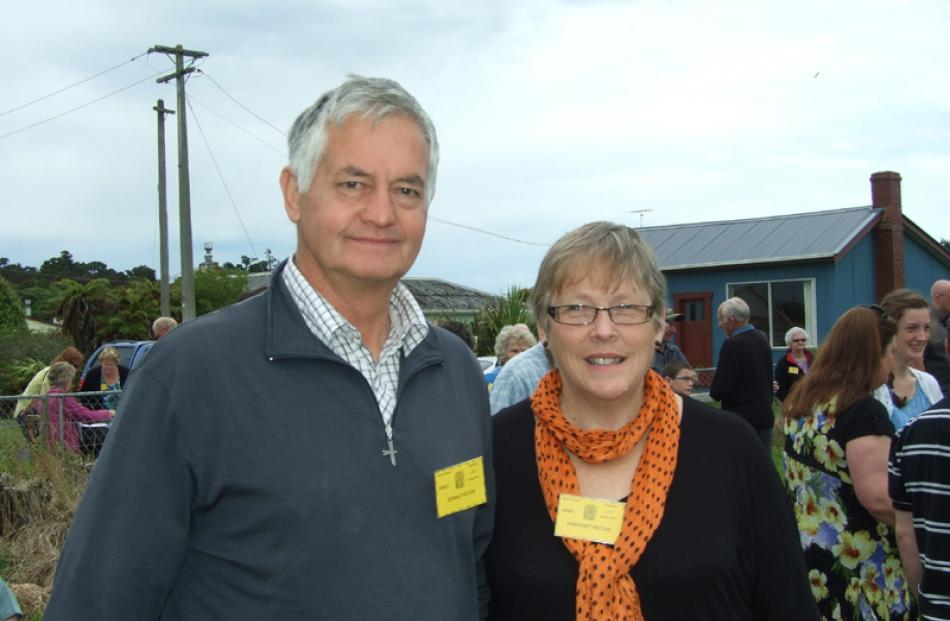 Donald and Margaret McCaw (Ritchie McCaw's parents), of West Melton.