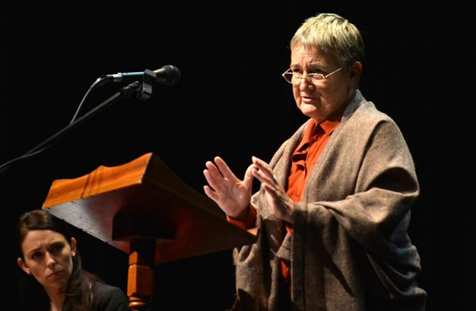 Dr Marilyn Waring delivered the Dame Dorothy Fraser lecture last night, as Labour MP Jacinda...