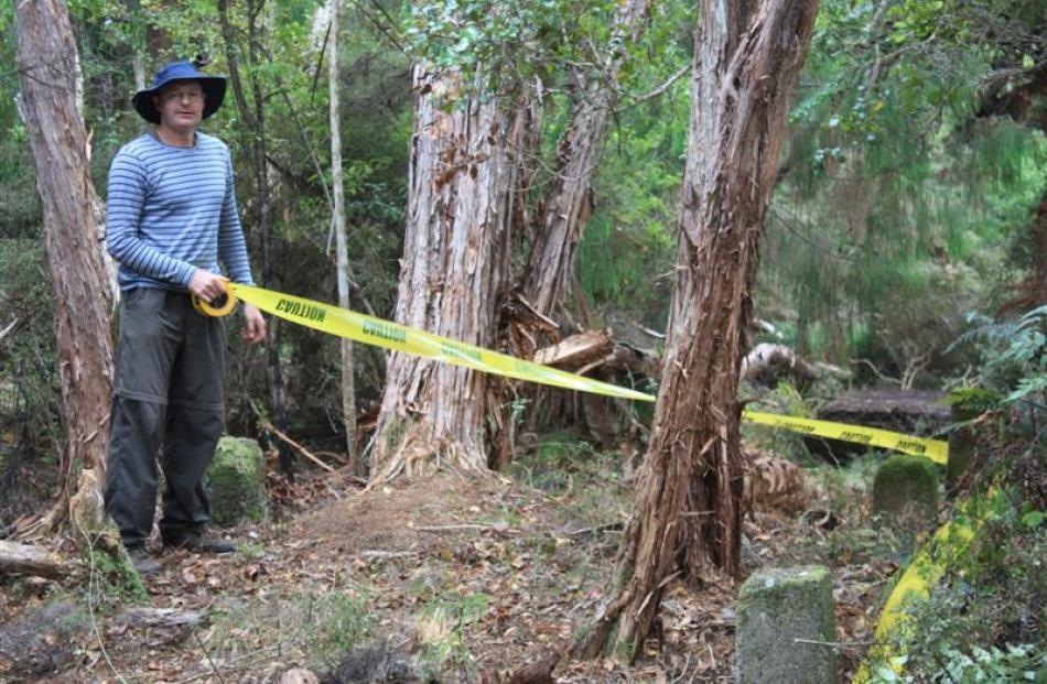 Dr Matthew Schmidt, New Zealand Historic Places Trust regional archaeologist (Otago/Southland),...