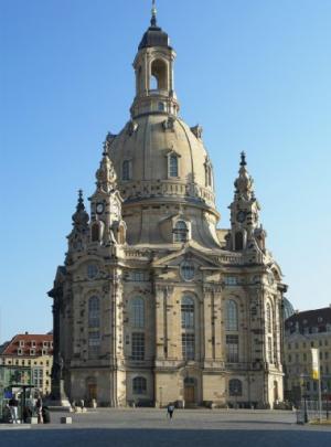 Dresden's Frauenkirche. Supplied photos.