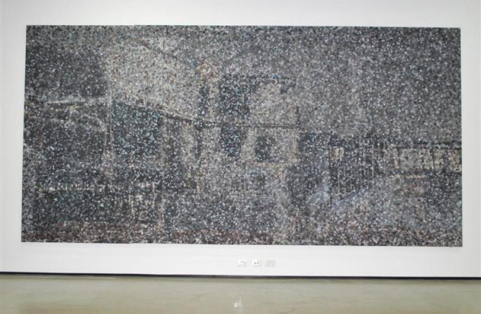 Dunedin art student Cobi Taylor's award-winning work, Palpitations. Photo supplied.