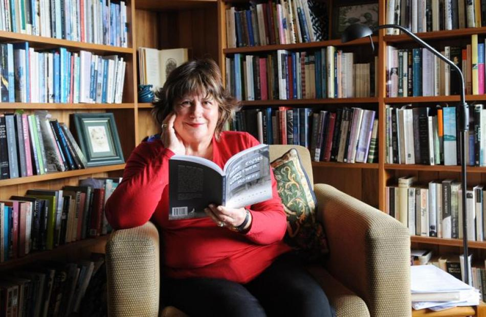Dunedin author Diane Brown, who was recently named as the 2012 Janet Frame Memorial Award winner....