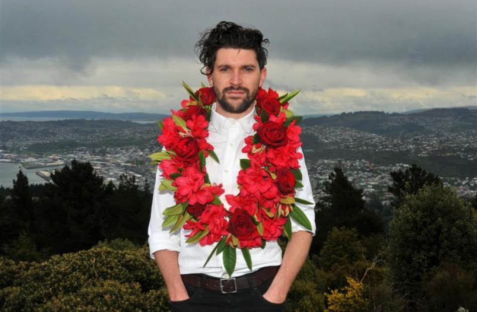 Dunedin-based Dudley Benson received  a 2014 Westpac New Zealand New Generation Award. Photo by...