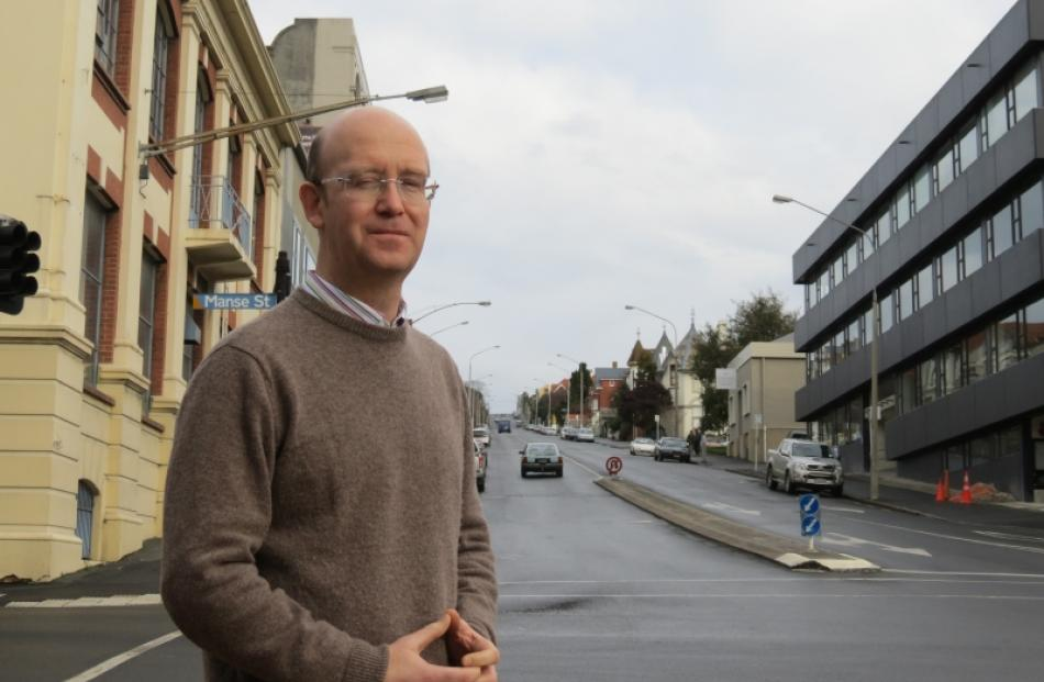 Dunedin Cable Car Trust chairman Phil Cole hopes  cable cars will be running on High St in the...
