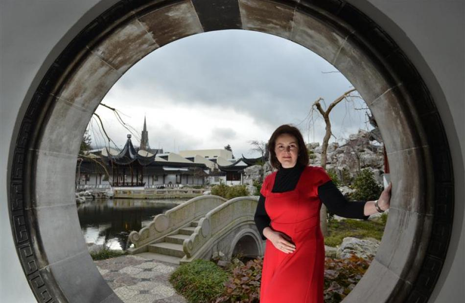 Dunedin Chinese Garden manager Margo Reid says dwindling visitor numbers are a reflection of...