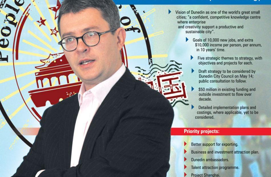 Dunedin City Council chief executive Paul Orders.