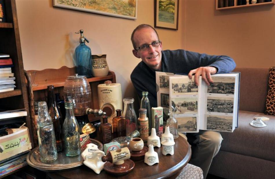 Dunedin collector Russell Knowles is selecting his favourite items to keep, while in the process...