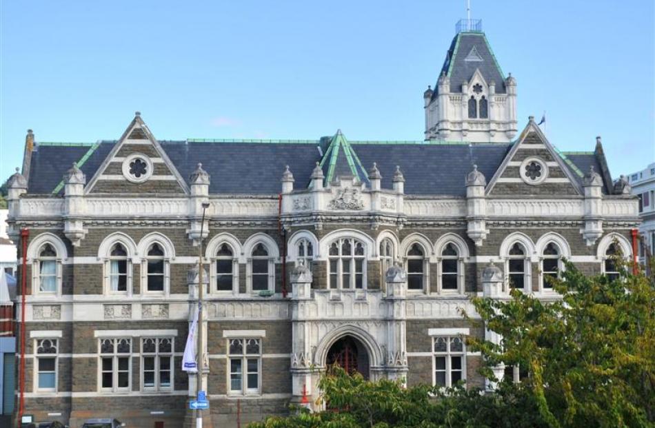 Dunedin Courthouse. Photo by ODT.