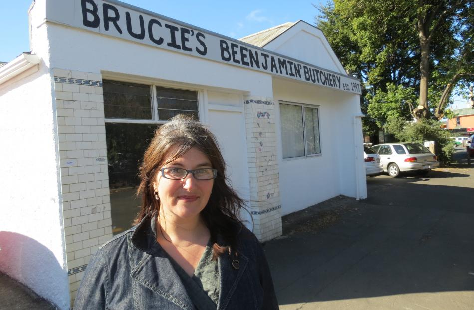 Dunedin Flatnames researcher Sarah Gallagher visits one of the many named flats in the city....