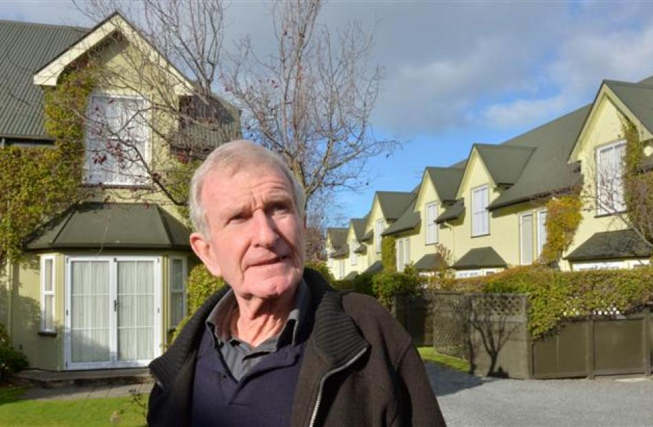 Dunedin landlord Jim Casey says he treats his flats and his  tenants well. Photos by Gerard O'Brien.