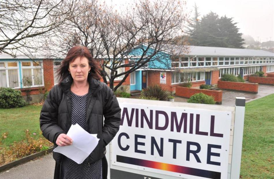 Dunedin mother Lynlee von Ballmoos is vowing to fight the closure of the Windmill holiday...