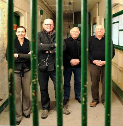 Dunedin Prison Charitable Trust trustees (from left) Sarah Girvan, Ian Butcher, Terry Hearn and...