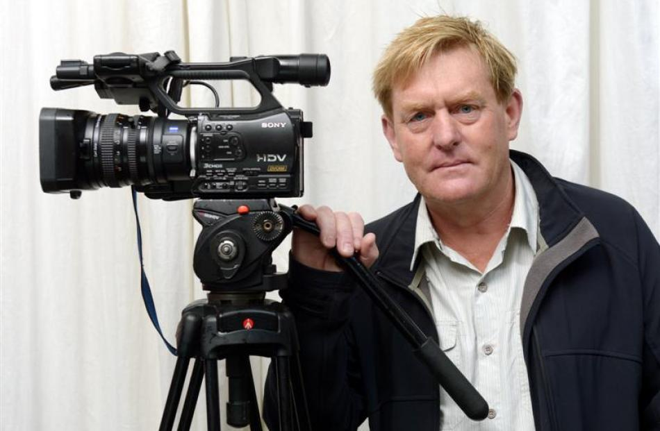 Dunedin television producer Mark Strickson has been asked to set up a television station in...