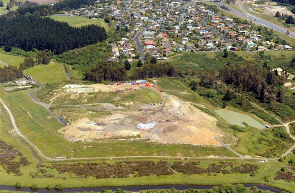Fairfield landfill. Photos by ODT.