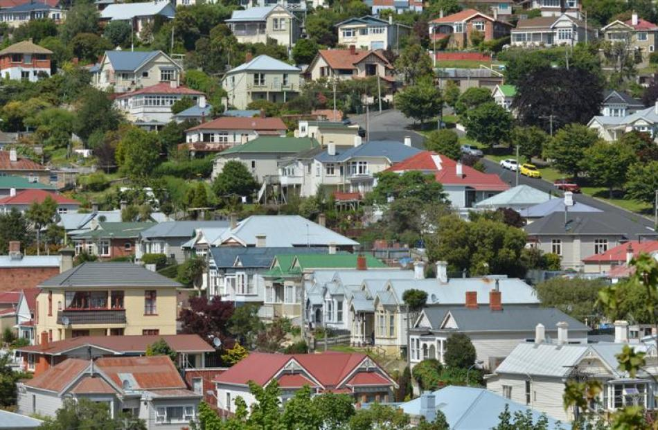 First-home buyer numbers appear to be down. Pictured, Caversham in Dunedin. Photo by Gerard O'Brien.