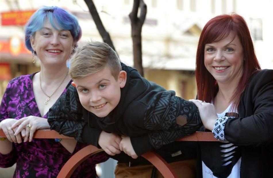 Foetal Anti-convulsant Syndrome NZ executive officer Denise Astill (left) in Dunedin yesterday...