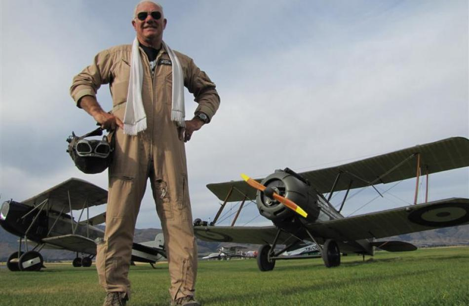 Former Dunedin man  Keith Skilling, who piloted a  World War 1 replica Fokker DVII from Blenheim...