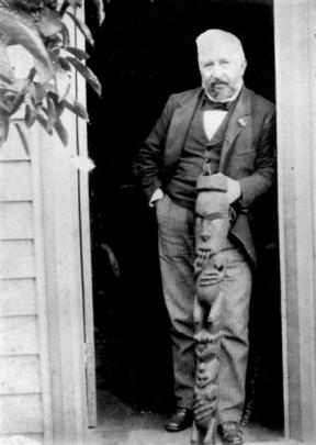 From his arrival in Dunedin in 1862, Hocken collected Maori and Pacific artefacts, which later...