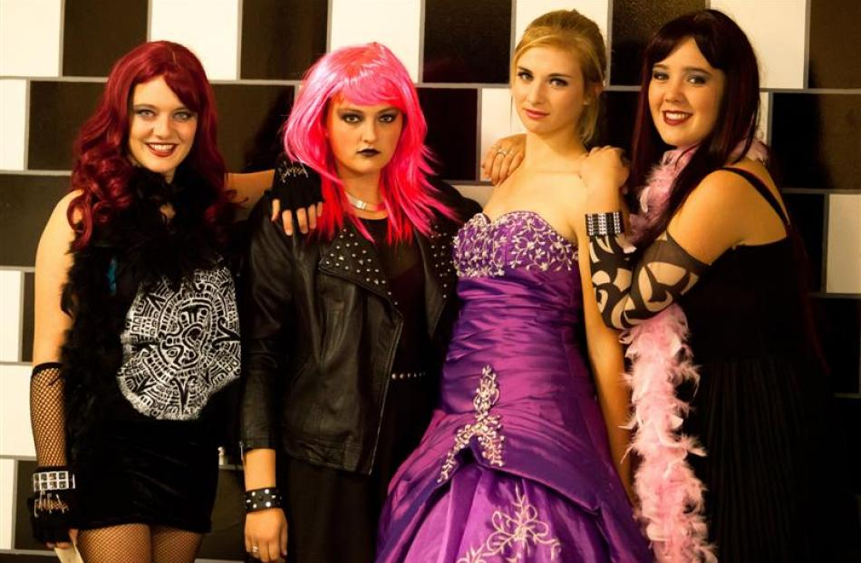 From left,  Pheobe James, Kirsten Jongsma, Ashleigh McLean, and Georgia McNeill make up the band...
