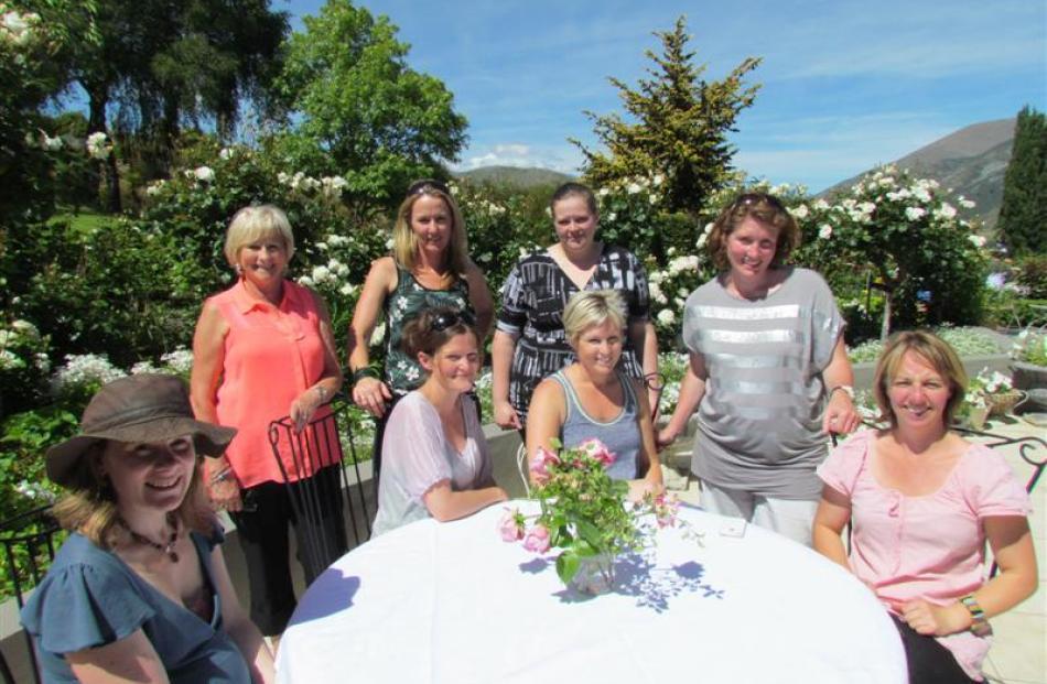 From left: Ella Wilson, Oanita Collins, Belinda Ricketts, Jane Hamilton. Front: Catkin Bartlett,...