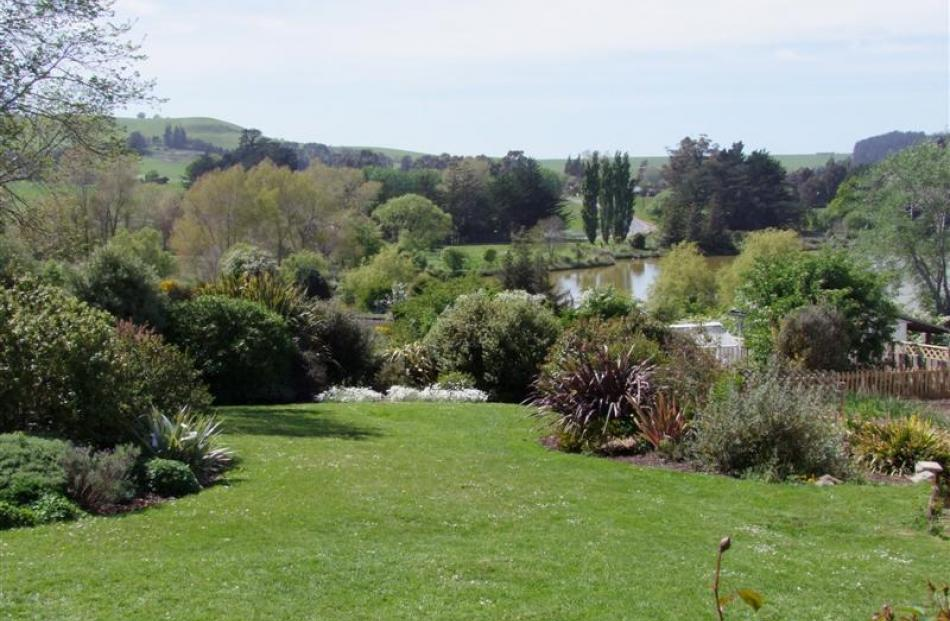 From the back deck of Kay and Bill Lang's Waikouaiti property there is an uninterrupted view to...