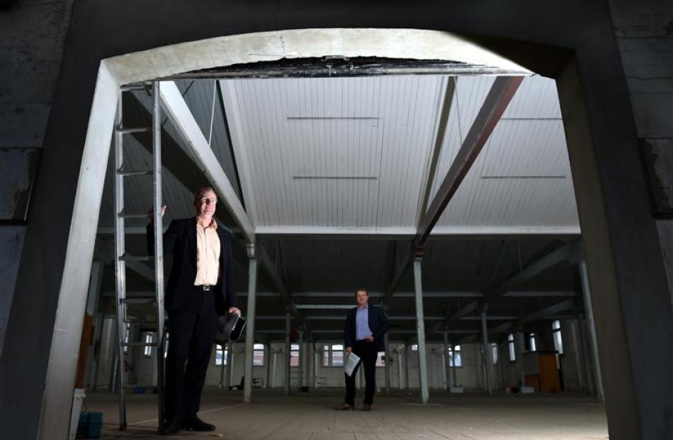 Gallaway Cook Allan chief executive Matt Gorman (left) and McAuliffe Stevens principal architect...