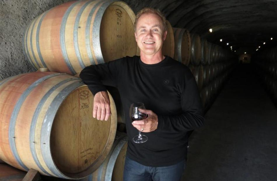 Gibbston Valley Winery and Gibbston Valley Station chief executive Greg Hunt in the winery's...