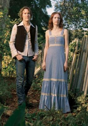Gillian Welch and longtime musical partner Dave Rawlings. Photo supplied.