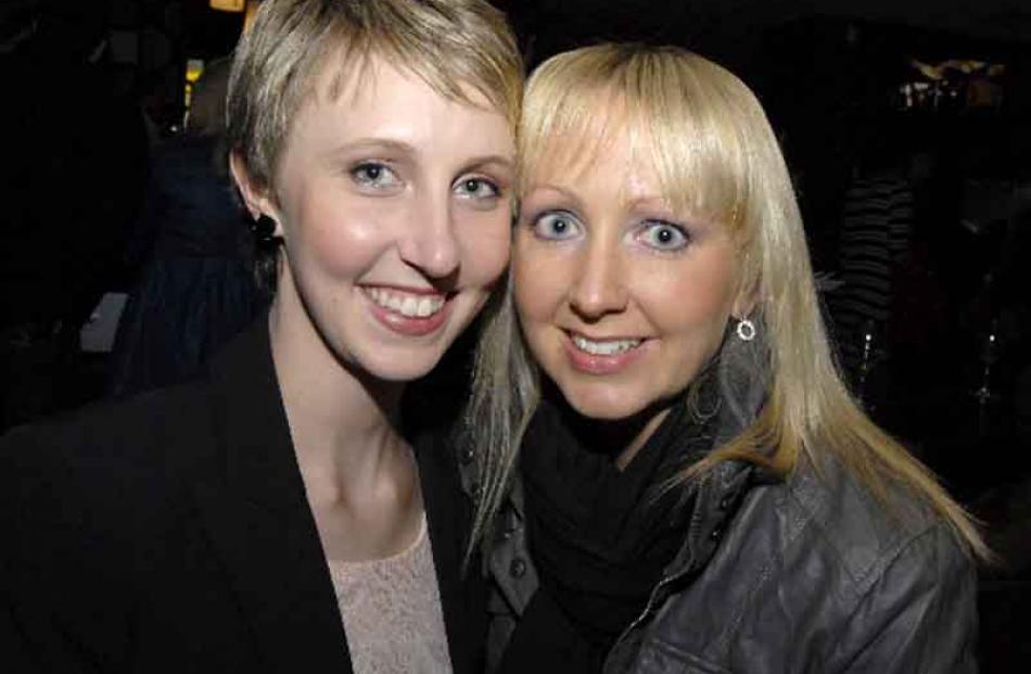 Elita McDonald and Gina Maxwell, both of Dunedin.