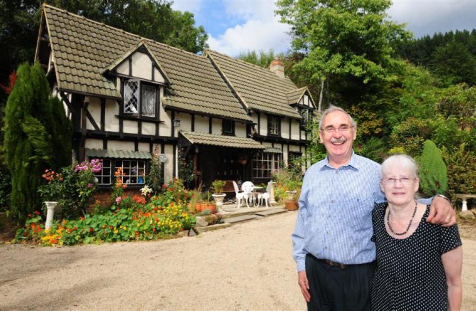 Gordon and Sandra Sasse and their quaint St Leonards cottage. Photos by Craig Baxter.