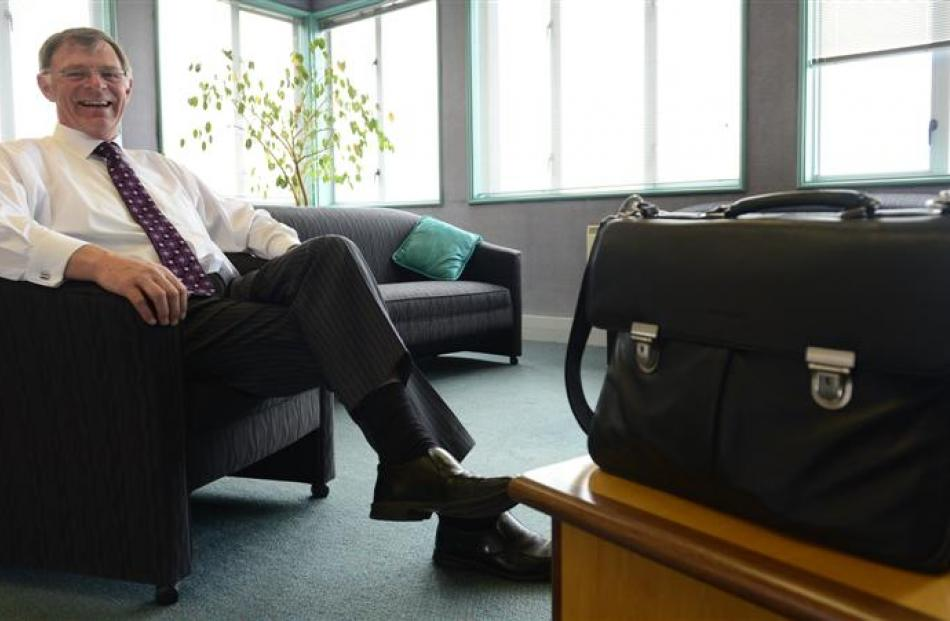 Graeme Martin in his office in the Stafford St Otago Regional Council building. When it comes to...
