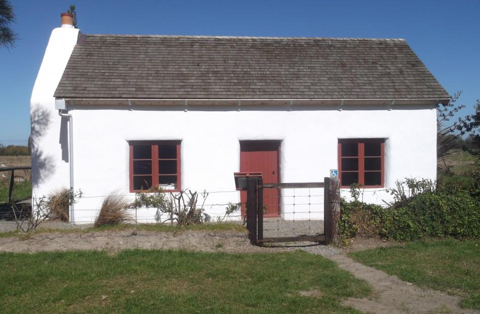 Hororata's historic cob cottage, Cotons' Cottage, is open to the public again. Photo by David Hill