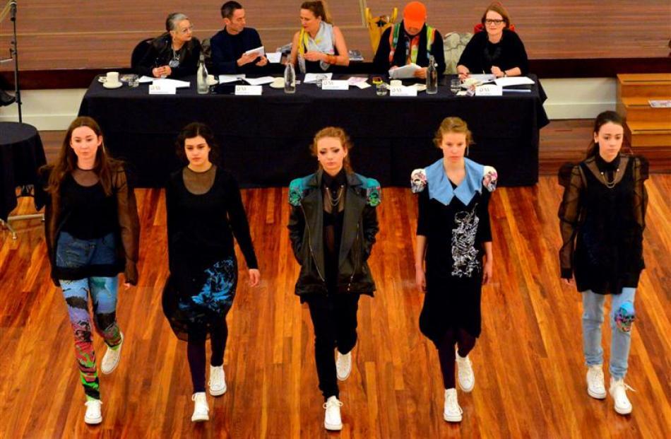 iD International Emerging Designer Awards judges (from left) Margi Robertson, Martin Grant, Tanya...