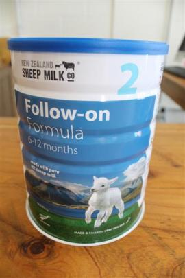Infant milk formula developed, manufactured and canned in Invercargill.